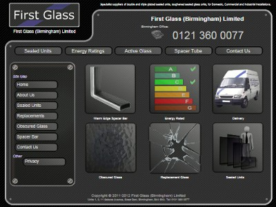 First Glass Birmingham Ltd are specialist suppliers of double and tripple glazed sealed units for the Trade, Commercial and Industrial sectors. With years of experience in the manufacture of double glazed glass units, First Glass (Birmingham) Ltd are skilled in all aspects of sealed unit fabrication. Probably Birmingham's largest manufacturer of sealed units, we are based in the heart of the country within easy access to the motorway network, we have local delivery options and collection services to a nationwide customer base.